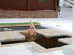 МОСКВА: Путин заронио у ледену воду поводом Богојављења