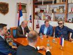 Додик и Кустурица са начелником Вишеграда о улагањима и новим пројектима